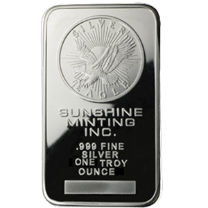 Sunshine Silver Bars Sizes Purities And Where To Buy
